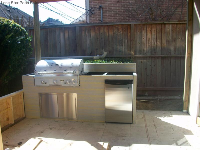 Outdoor Kitchen Pictures Lone Star Patio Builders