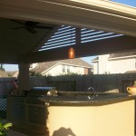 Patio Cover in Katy With Outdoor Kitchen