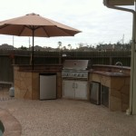 The Woodlands Outdoor Kitchen Construction