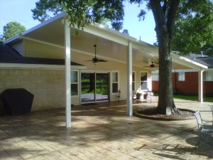 Metal Patio Cover in Kingwood