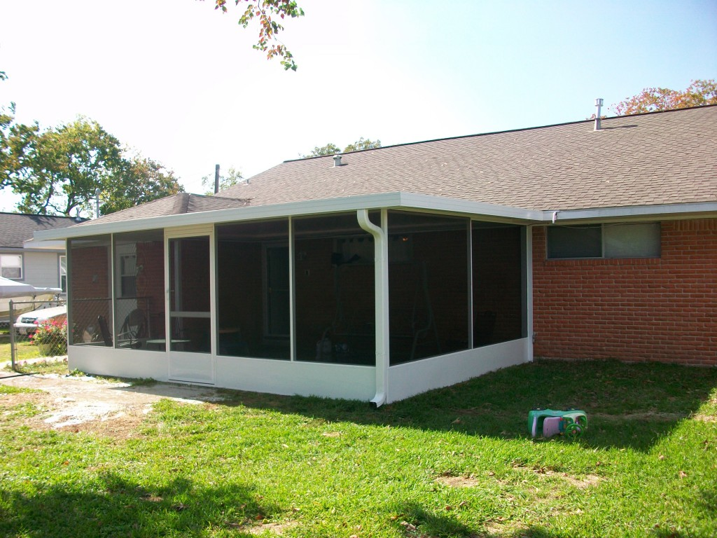 Patio Cover & Screened Porch Tomball - Screen Room Pictures Houston, San Antonio, Austin & Dallas