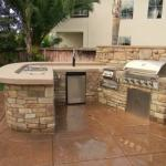 Custom Outdoor Kitchen in Houston