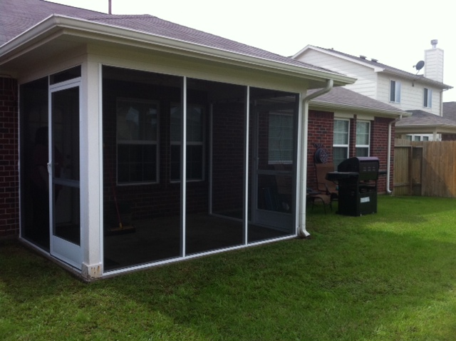 Houston Screened Covered Patios U0026 Enclosures