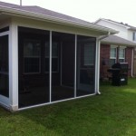 Screened in Covered Patio in Houston