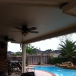 Patio Cover With Ceiling Fans in Houston, Montgomery, & Magnolia