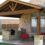 Cedar Patio Covers in Houston, Texas