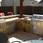 Cypress TX Outdoor Kitchen