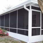 Tomball Screen Room With Insulated Roof