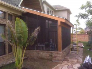 Patio Screens In Houston, Tomball, Magnolia U0026 Montgomery