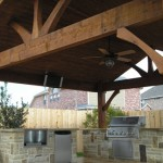 Cedar Covered Patios in Houston, Texas