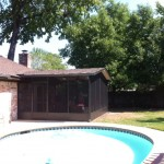 Screened in Patio Covers Tomball