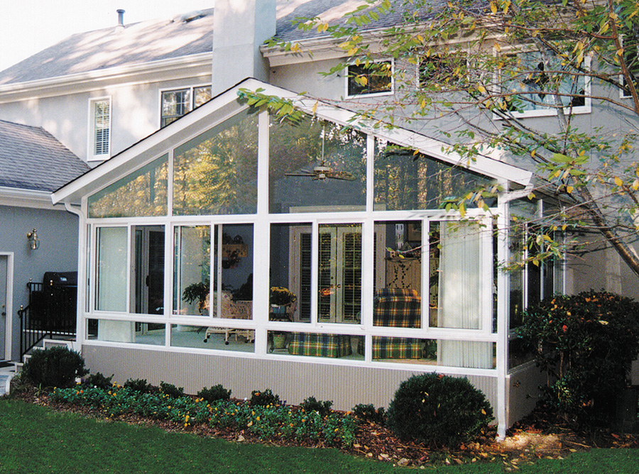 Houston Sunrooms With Gabled Roof Lone Star Patio