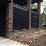 Bronze Screened Patio in Richmond