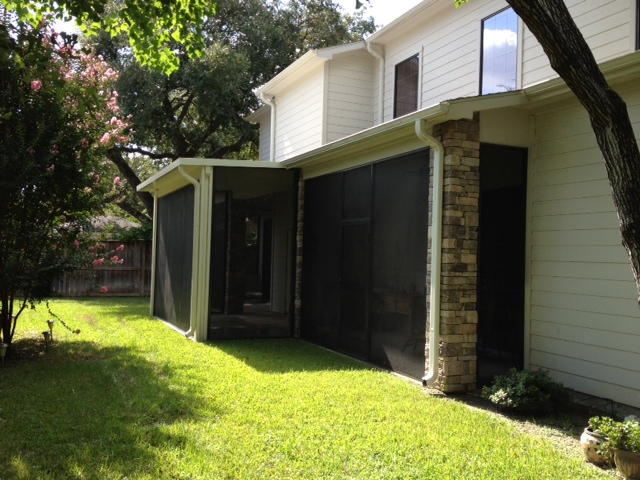 Covered Patio Amp Screened Porch In Montgomery Tx