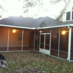 Tomball Screened in Patio Cover
