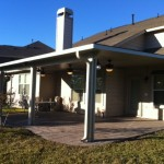 Aluminum Patio Cover Houston TX with fans
