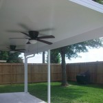 Metal Covered Patio In Houston
