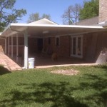 Aluminum Covered Patio in Baytown