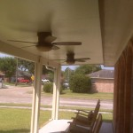 Houston Metal Patio Cover With Fans