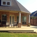 Deck and Covered Patio in Spring, TX
