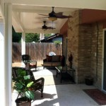 Metal Patio Cover in Katy