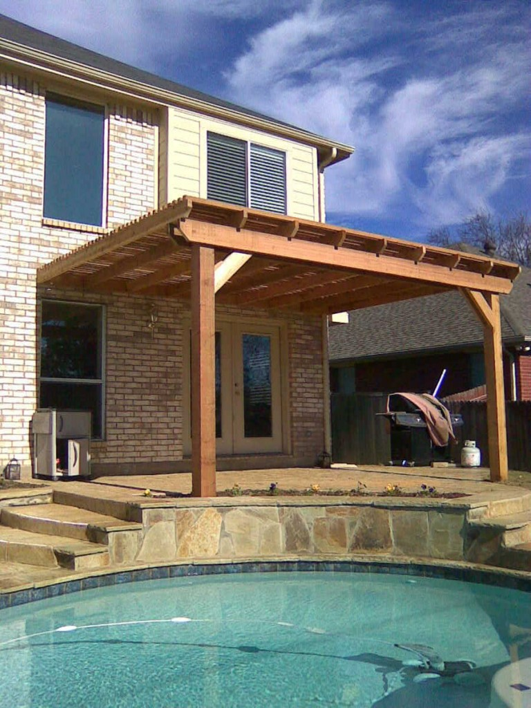 Cedar Pergolas In The Woodlands Lone Star Patio Builders