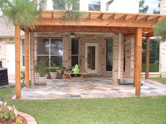 Cedar Pergolas In Houston Lone Star Patio Builders