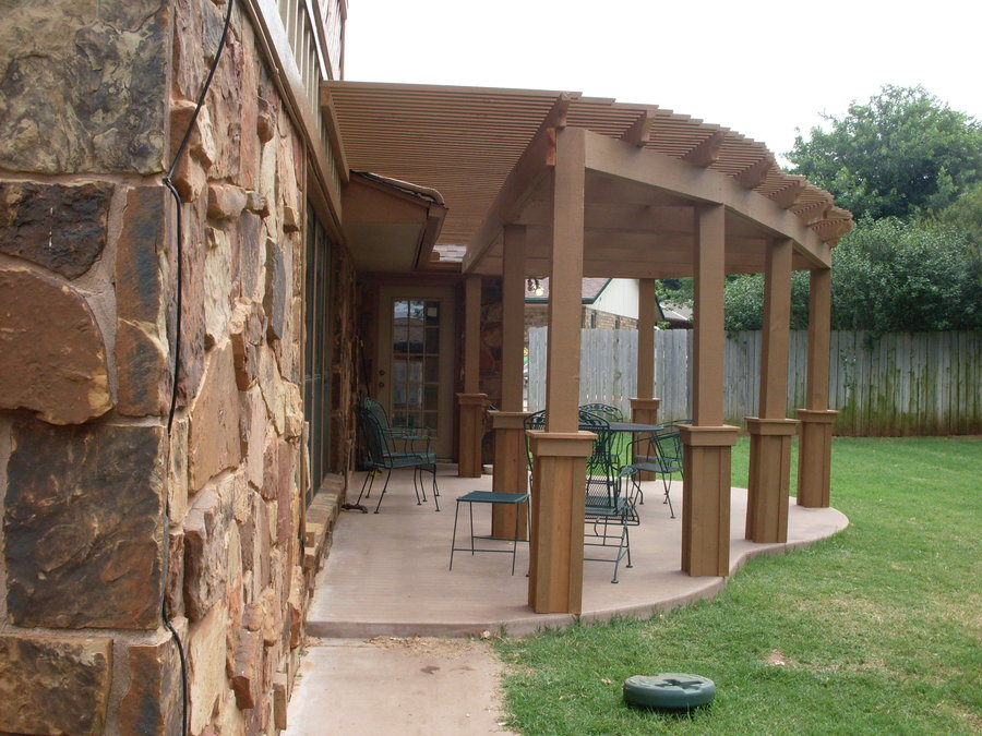 Pergola design ideas lone star patio builders - Pergolas para patios ...