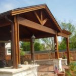 Covered Porch in Cypress