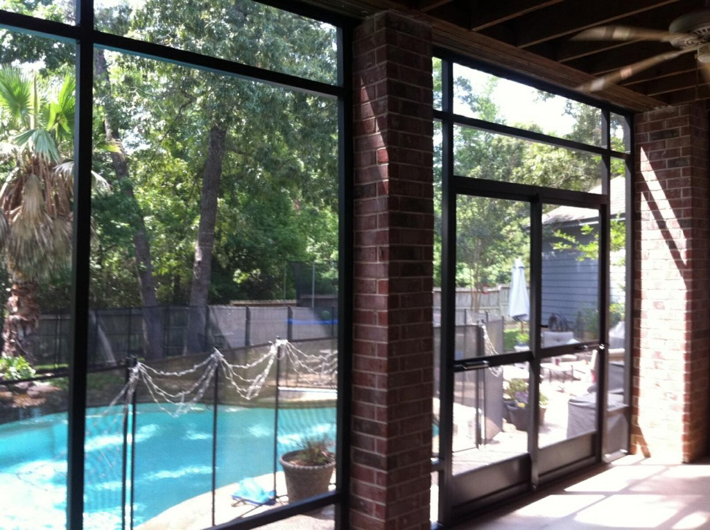 The Woodlands Screened Porches Lone Star Patio Builders