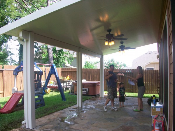 Aluminum Patio Covers In Tomball Tx Lone Star Patio