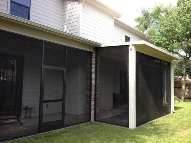 Screened In Patio Covers In Montgomery Tx Lone Star