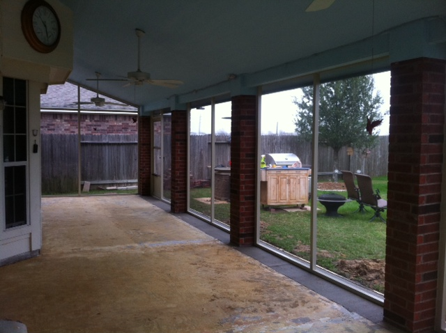 Kingwood Screened Porch Lone Star Patio Builders