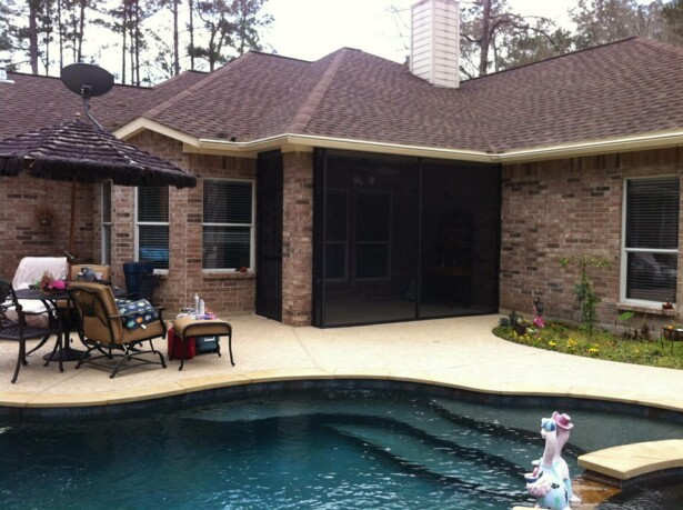 Conroe Screened Porches. August 7, 2018 By Lone Star