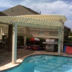 Houston Pergolas - Alumawood With Bi-level Design