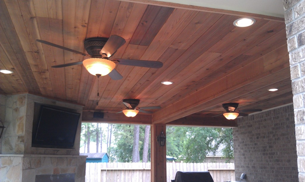Lighting options and ideas lone star patio builders for Patio construction ideas
