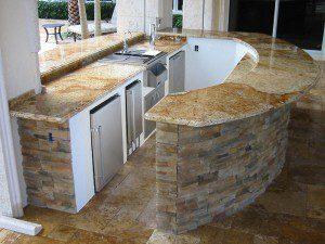 Outdoor Kitchen In Cypress Tx Lone Star Patio Builders