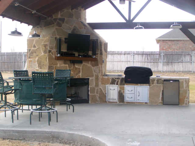 Outdoor Kitchens Houston TX - Lone Star Patio Builders