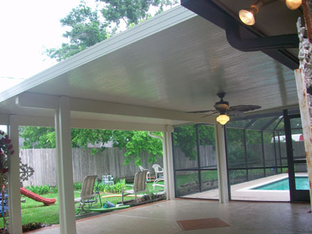 Covered Patio Houston Tx Lone Star Patio Builders