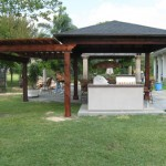 Cedar Patio Covers in Katy
