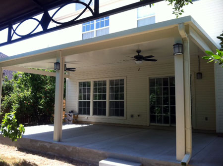 Katy Aluminum Covered Patio Lone Star Patio Builders