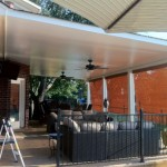Insulated Metal Patio Covers in Sugar Land