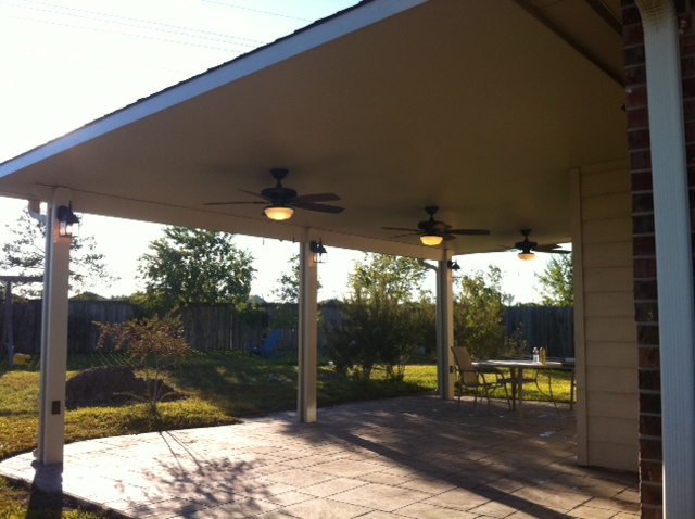 Patio Cover In Clear Lake Lone Star Patio Builders